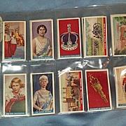 George VI:  Coronation, Cigarette Cards, 1937