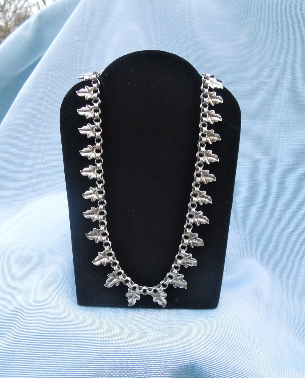 Silver Collar Necklace, Victorian