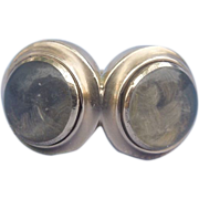 Double Locket Hair Ring, Georgian