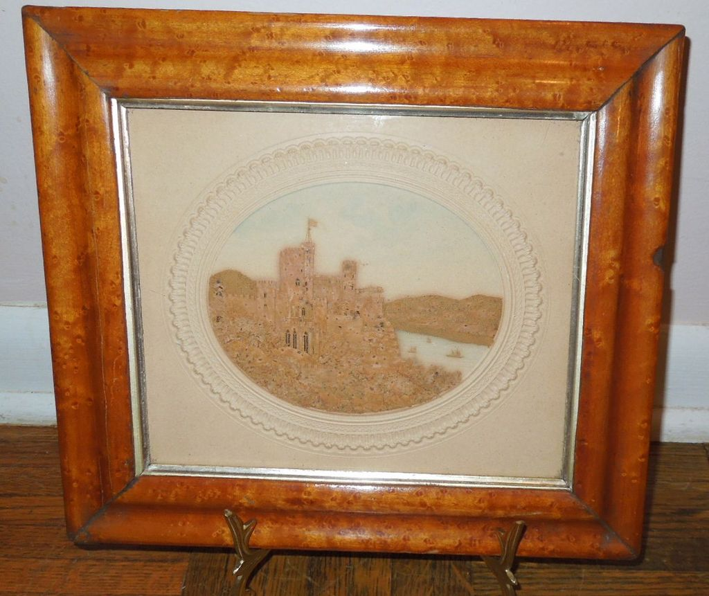 Cork Picture, English Scene, Early Victorian