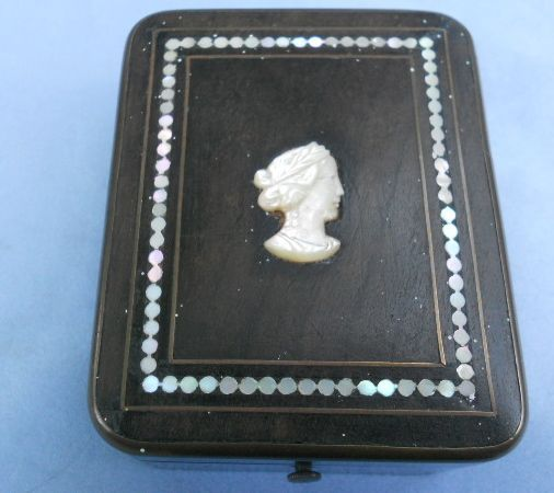 Beautiful Victorian, wooden watch box