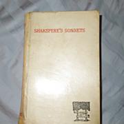 Shakspere's Sonnets (Shakespeare's), Victorian, Vellum