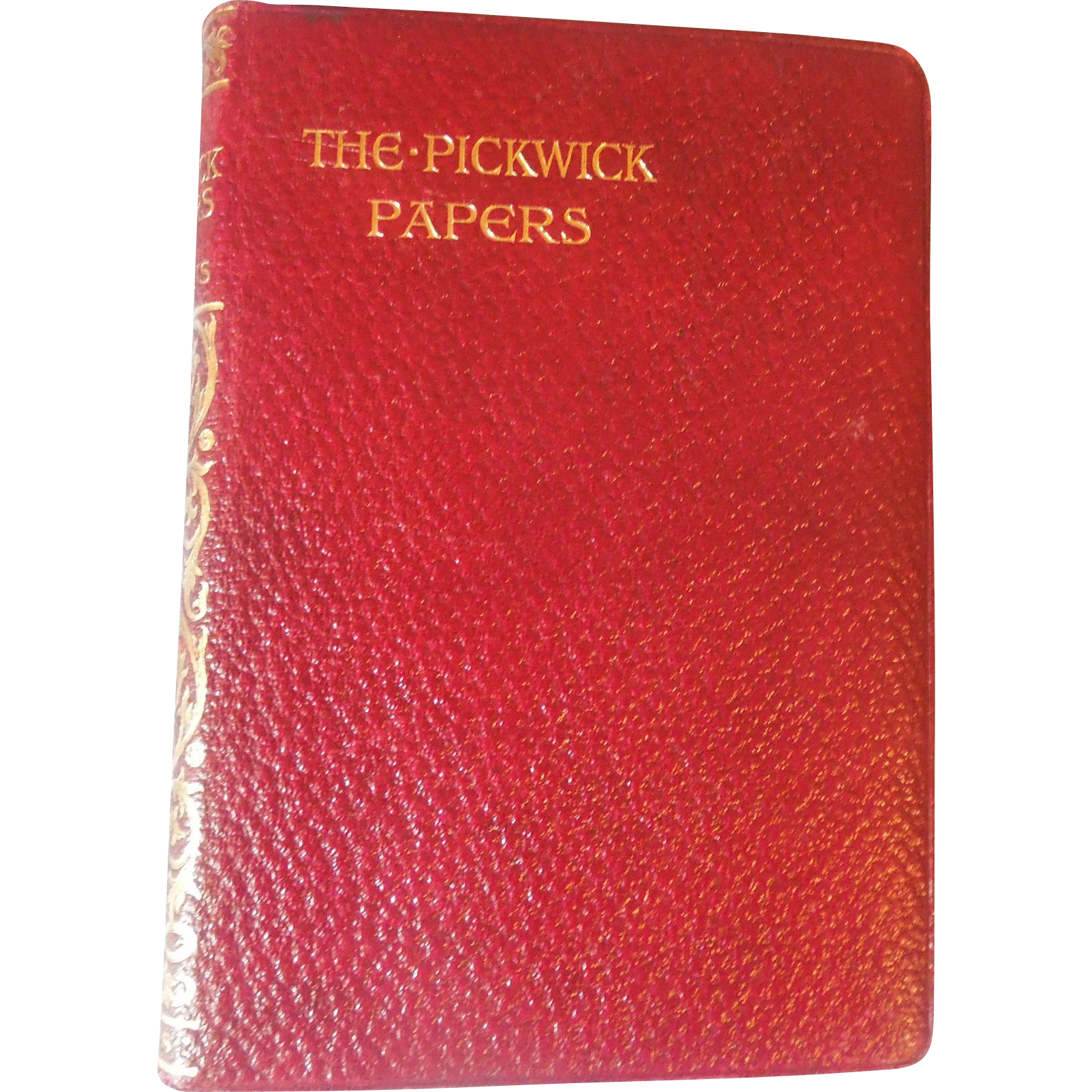 The Pickwick Papers, Charles Dickens, Full Leather, 1915