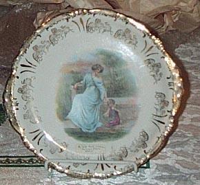 Victorian Portrait Plate