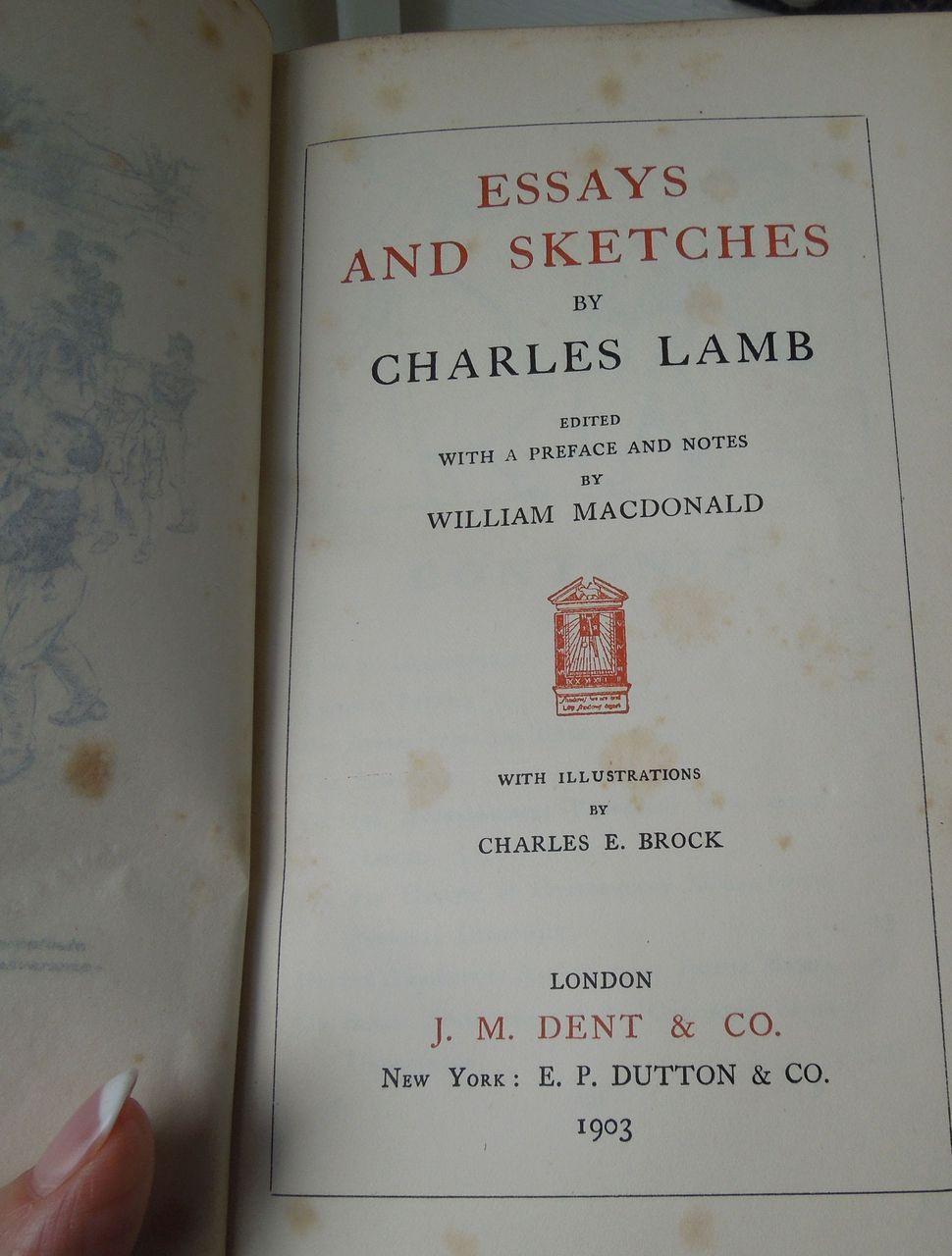 charles lamb essays analysis Home table of content united architects – essays table of content all sites lamb, charles british, 1775–1834 charles lamb worked as a clerk for a mercantile firm.