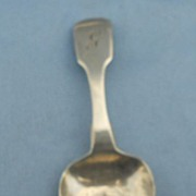 Silver Tea Caddy Spoon, Georgian