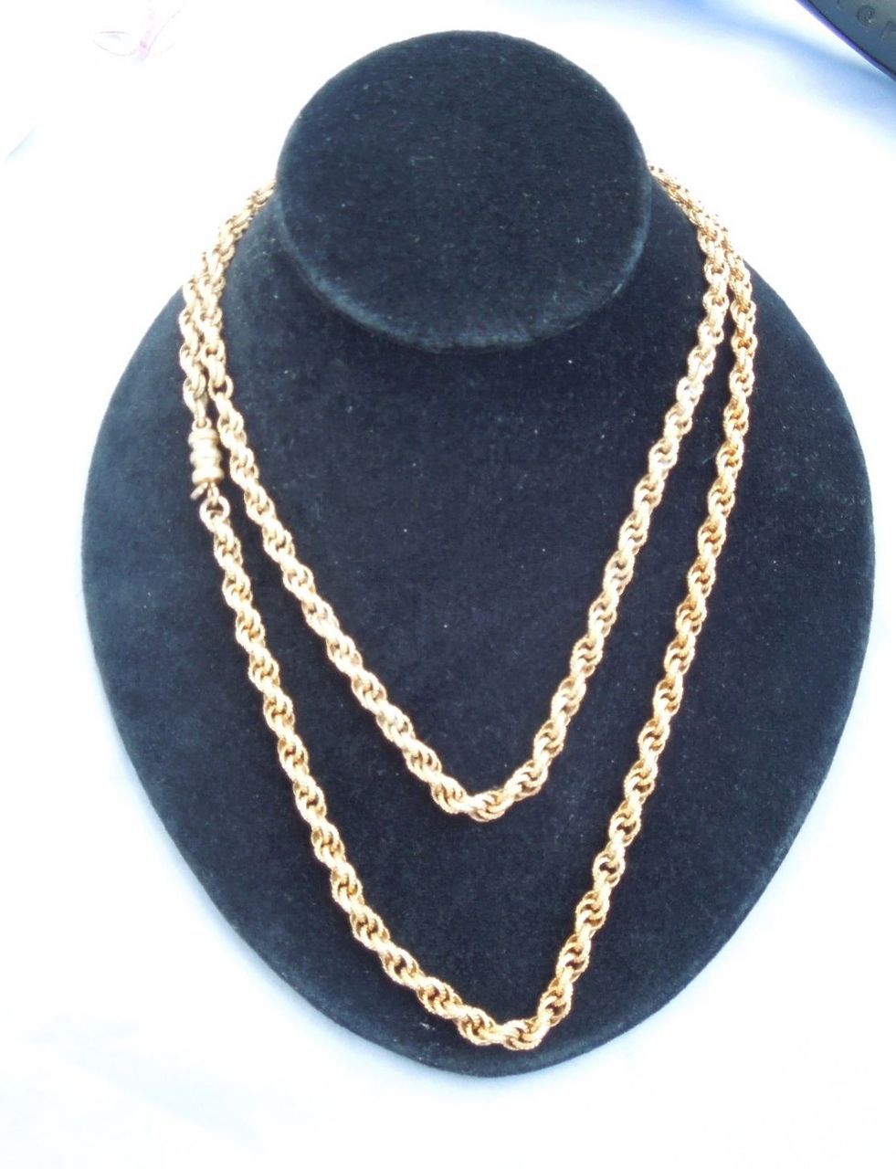 Georgian Chain, 38 inches, Pinchbeck