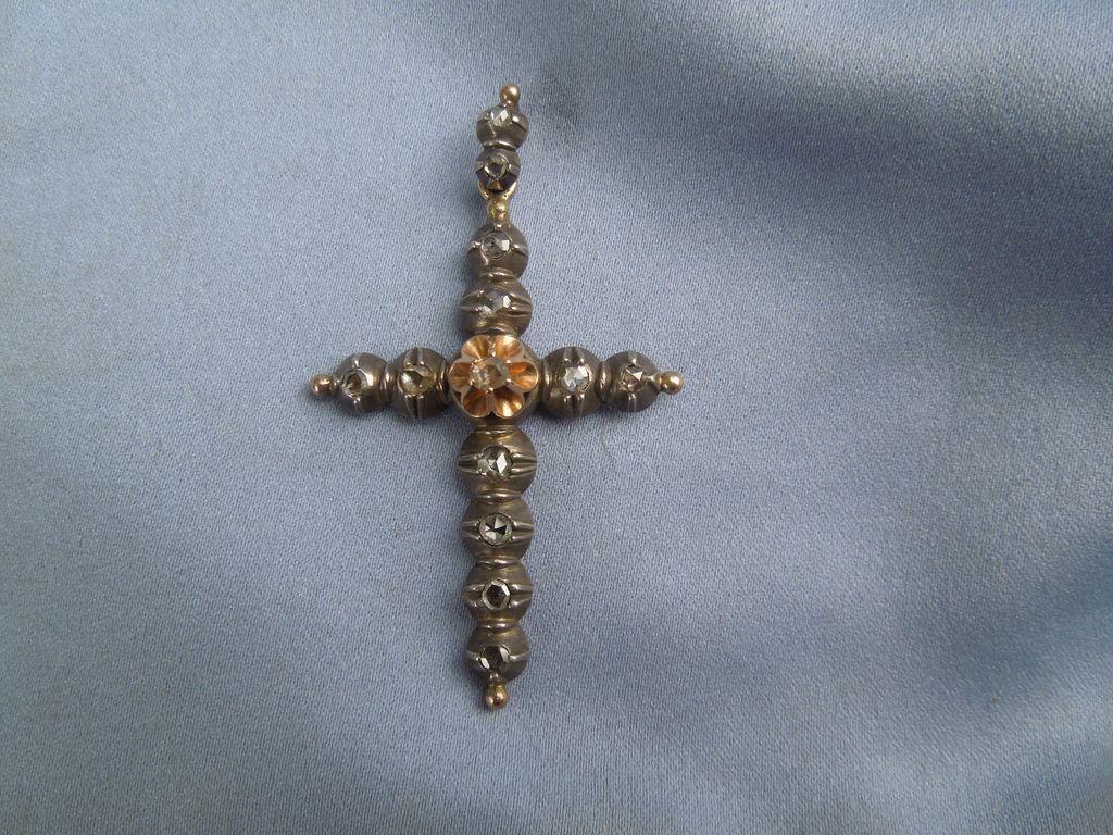 Cross, Rose Diamond, Georgian