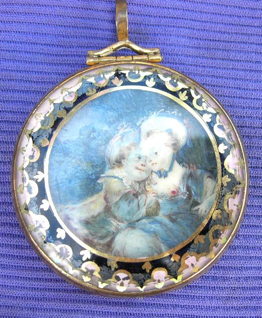 Pendant, Mother and Child, Georgian