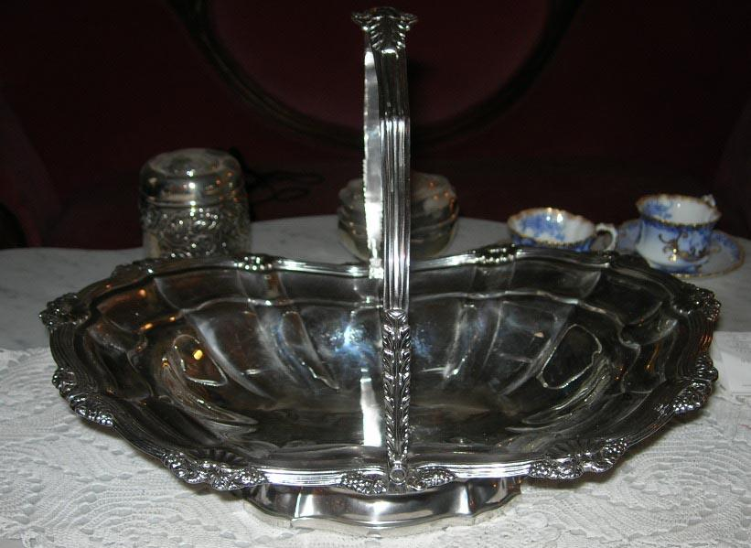 Silver (Sterling) Basket, Georgian, Charles Fox,Silversmith