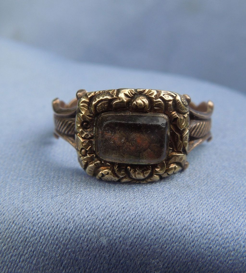 Hair Ring, Georgian