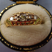 Diamond Band 18 carat, 1913