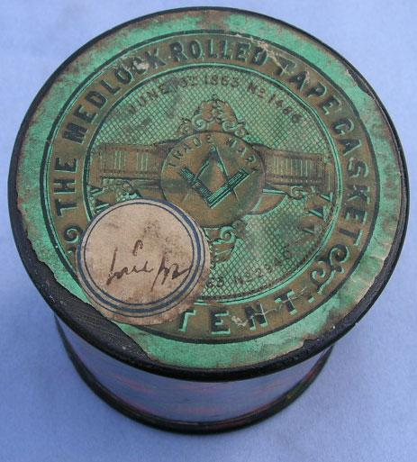 Tartan Rolled Tape Box Victorian From Robbinsroost On