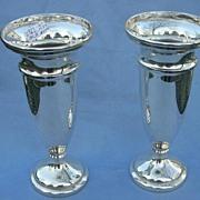 Pair of Silver Vases, 1937