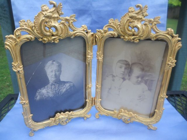 Large Ormolu frame, French, Double, Late Victorian