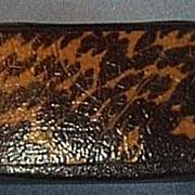 Victorian Snuff Box, Faux Tortoise