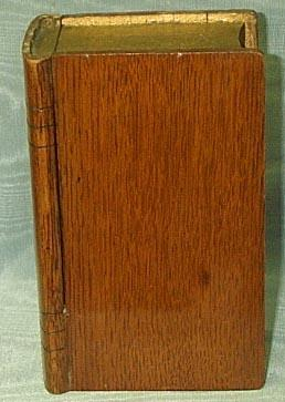 Oak Collecting Box,  (Book) Victorian