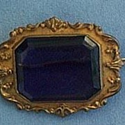 Victorian Amethyst Brooch, Metal