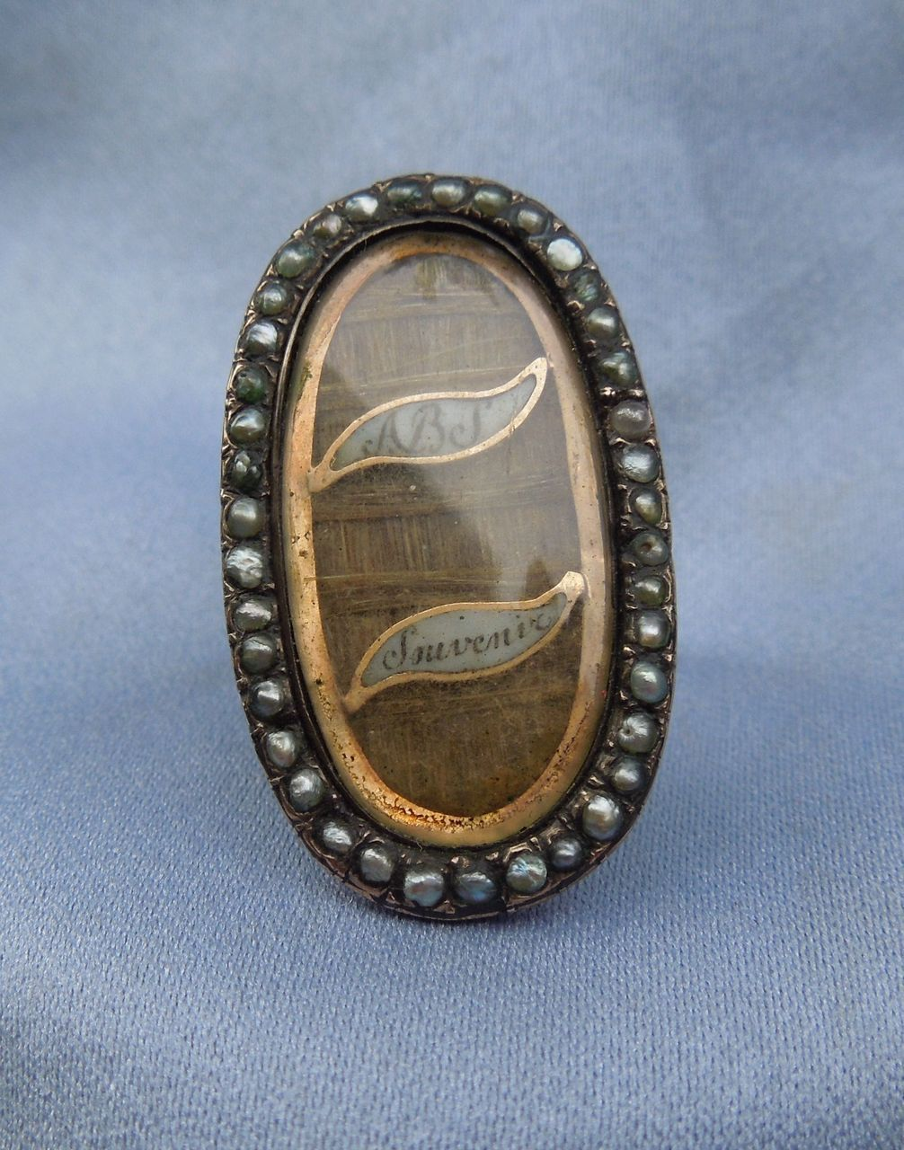 Georgian Memorial Ring, Souvenir, Hair