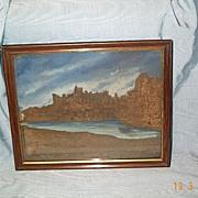 Georgian Cork Picture/ Windsor Castle, 1800