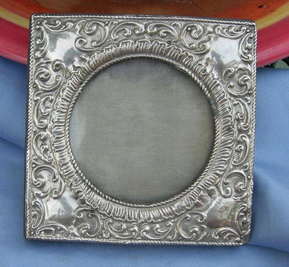 Sterling Silver Frame, Victorian