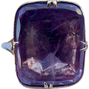 Amethyst Ring, Georgian