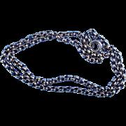 9 carat Belcher Chain, Victorian, 17 inch