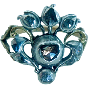 Rose Cut Giardinetti , with Cinnamon diamond, CA 1750