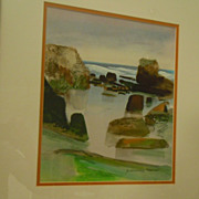 Alexander Nepote California artist watercolor seascape