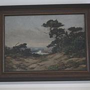 Charles Judson Monterey landscape oil painting