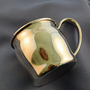 Baby cup sterling silver Lunt