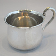 Baby cup sterling silver Empire Co