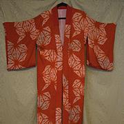 Japanese Lady's kimono 1950's silk