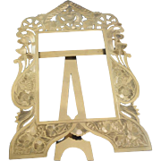 Silver European picture chased frame