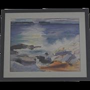 Jason Schoener water color seascape