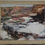 Robert Elsocht oil painting of Arizona Mesas landscape