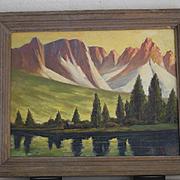 Paul A. Schmitt landsape California Nevada Sierras oil painting