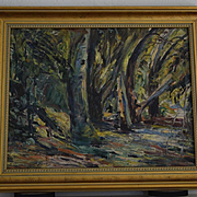Georgia Bemis Untitled Impressionist California Landscape painting