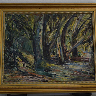 Georgia Bemis Untitled Impressionist California Landscape painting