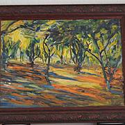 Georgia Bemis Impressionist California landscape painting
