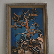 Mary Finley Fry abstract oil painting