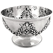 Antique Victorian Sterling Silver Bowl 1871
