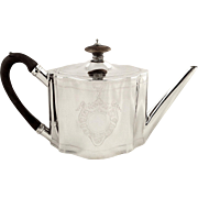 Antique Georgian Sterling Silver Teapot 1792