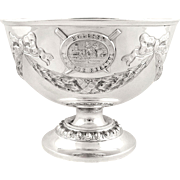 Antique Sterling Silver Bowl - 1917 - Molesey Amateur Regatta