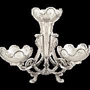 Antique Sterling Silver Epergne / Vase 1911