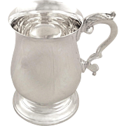 Vintage Sterling Silver Pint Mug / Tankard 1995
