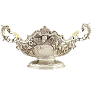 Superb Antique Edwardian Sterling Silver Presentation Centrepiece Bowl 1901