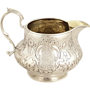 Antique William IV Sterling Silver Jug 1832