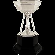 Antique Sterling Silver Golf Trophy 1935
