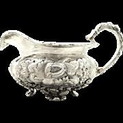 Antique George IV Sterling Silver Jug 1829